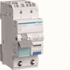 Hager Personskyddsautomat Typ A 10A 3MA ADA910G