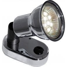 Sunwind Mini spotlight LED, krom 12V, 1,9W