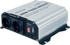 Omformare Pure Sine Wave Power Inverter 600W 12V
